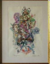<p>Drawing, 37x24.5, pencil/watercolor/paper</p>
