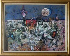 Terra incognita, 60х80, acrylic on canvas